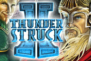 New game review of  Thunderstruck II video slots